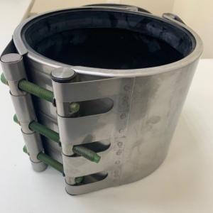 Abraçadeira para reparo em tubo de aço